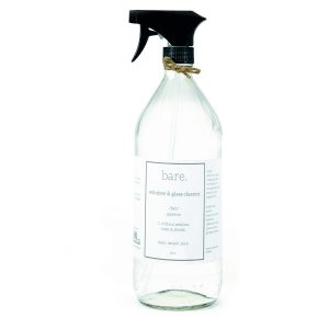 Window and Glass Cleaner - 32 oz - bare. cleaning essentials