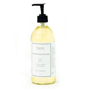 moisturizing hand soap - 16 oz - bare. cleaning essentials