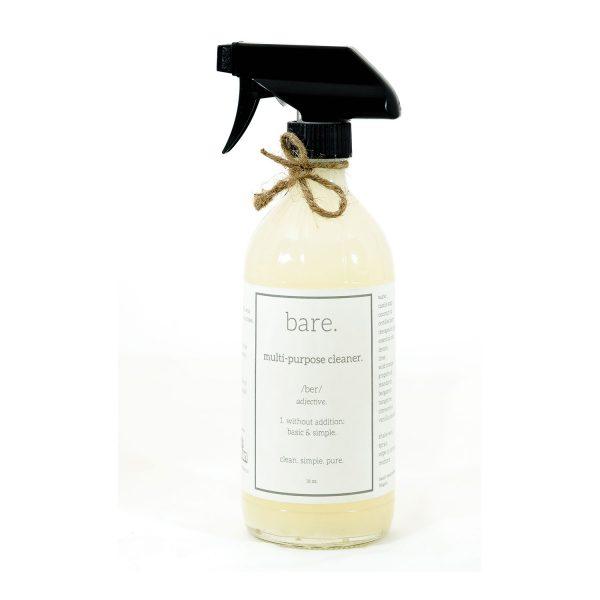 multi purpose cleaner - 16 oz - bare. cleaning essentials