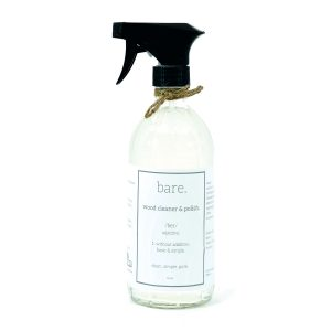 wood cleaner and polish - bare. cleaning essentials