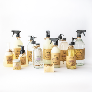 bare cleaning essentials - lavender eucalyptus - full product line - clean with bare