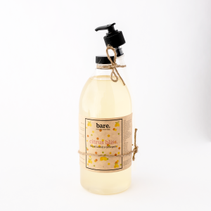 citrus bliss - liquid laundry soap -1L - bare. cleaning essentials - clean with bare - 1500 x 1500