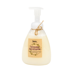 lavender eucalyptus - foaming hand soap - 16oz - bare. cleaning essentials - clean with bare