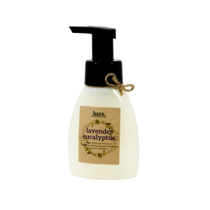 lavender eucalyptus - foaming hand soap - 250ml - bare. cleaning essentials - clean with bare