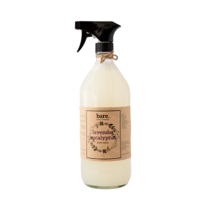 lavender eucalyptus - linen spray - 32oz - bare. cleaning essentials - clean with bare