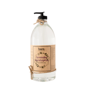 lavender eucalyptus - liquid dish soap - 32oz - bare. cleaning essentials - clean with bare
