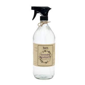 lavender eucalyptus - window and glass cleaner - 32oz - bare. cleaning essentials - clean with bare