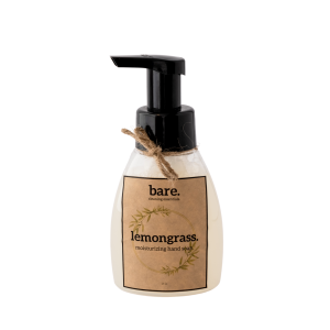 lemongrass - foaming hand soap - 250ml - bare. cleaning essentials - clean with bare